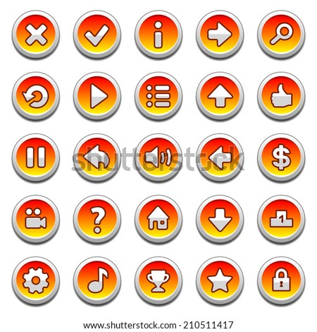stock-vector-orange-round-game-menu-butt