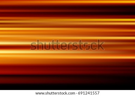 orange vector abstract speed motion blur of night lights in the city long exposure background