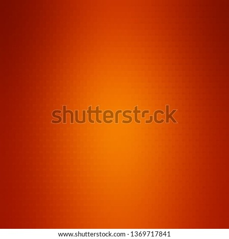 Orange vector background with rectangles. Rectangles with colorful gradient on abstract background. Best design for your ad, poster, banner.