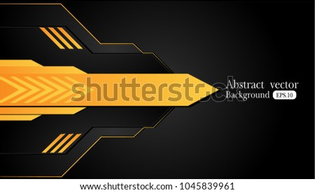 stock-vector-orange-yellow-and-black-abstract-business-background-vector-design