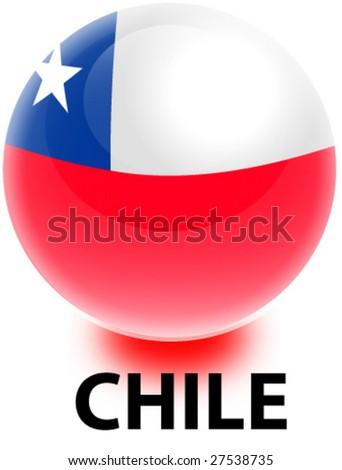 Orb Chile Flag