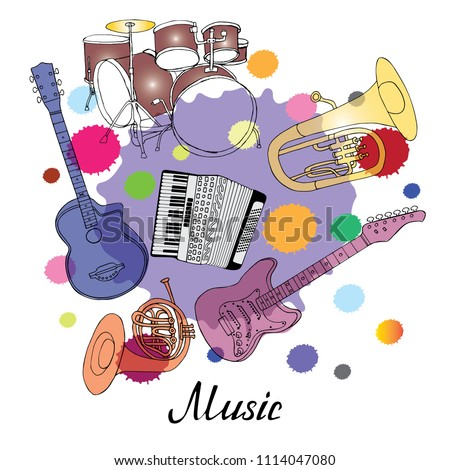 Brass band Random Royalty-Free Vectors | Imageric com