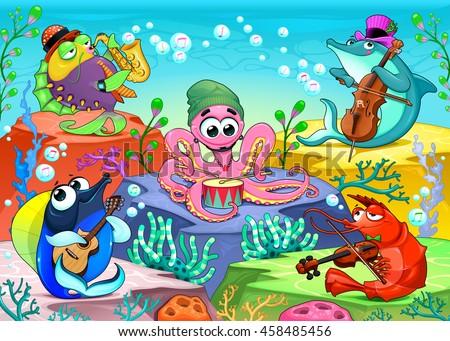orchestra in the sea funny