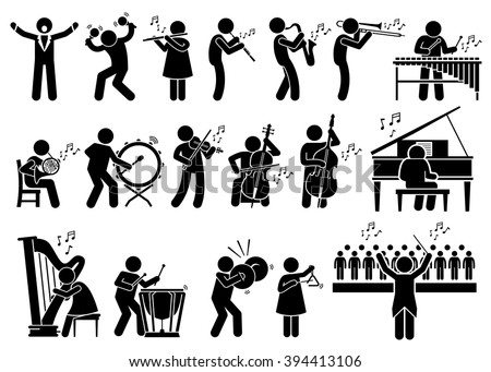 orchestra symphony musicians