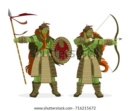 orcs nomad warriors
