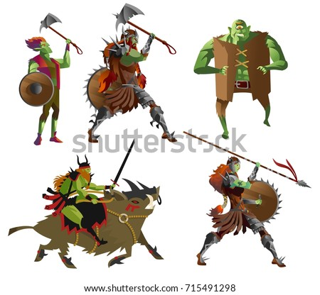 orcs warriors