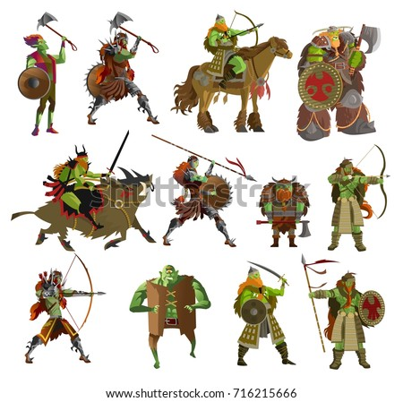 orcs warriors collection