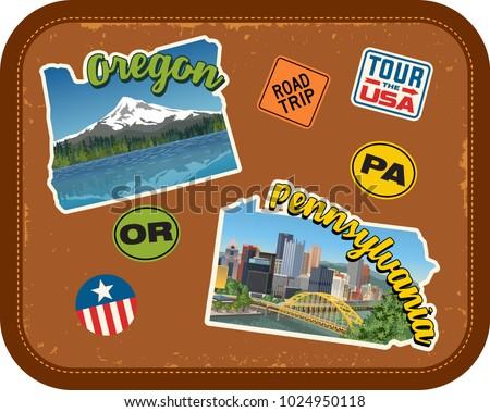 oregon  pennsylvania travel...