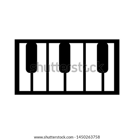 organ music icon. Logo element illustration. organ music symbol design. colored collection. organ music concept. Can be used in web and mobile