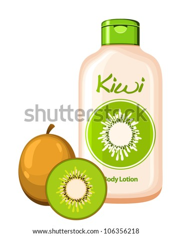 organic cosmetics - Kiwi Body Lotion
