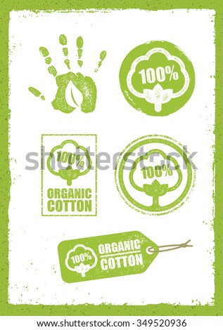organic cotton creative concept