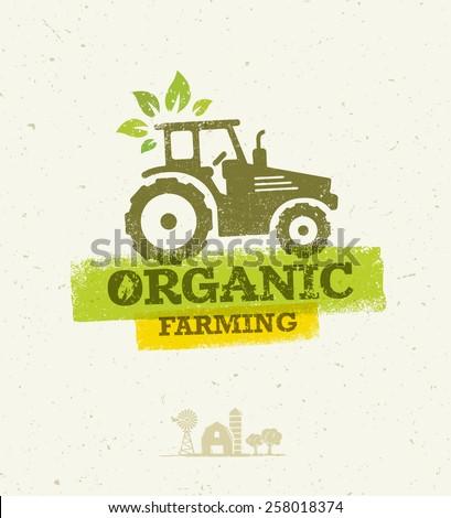 organic farming eco tractor