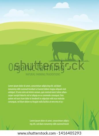 Organic farming. Natural farming traditions.