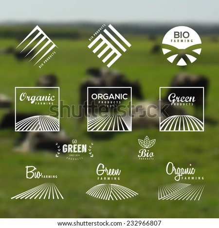 organic food  eco  bio farming