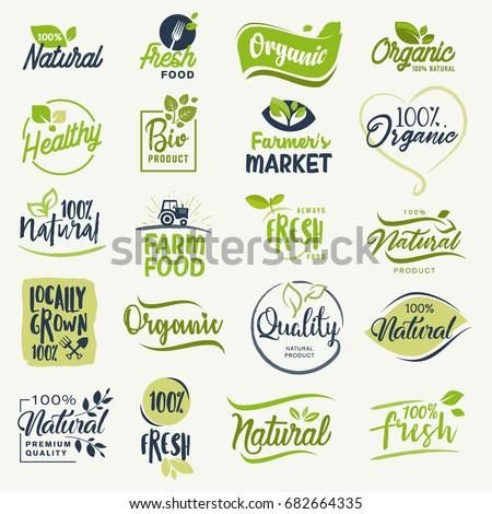 organic food  farm fresh and