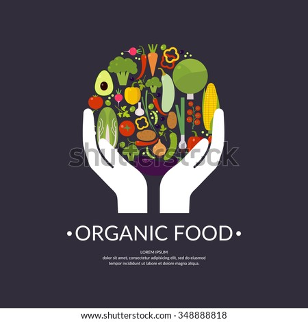 organic food fruits and
