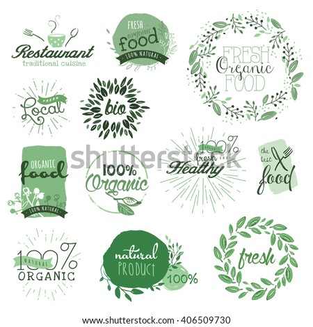 organic food labels and