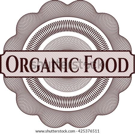 Organic Food rosette