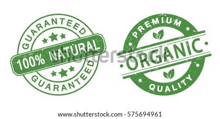organic grunge stamps