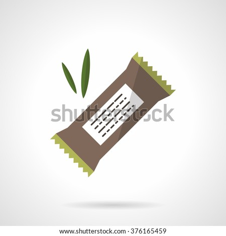 organic protein bar with carob