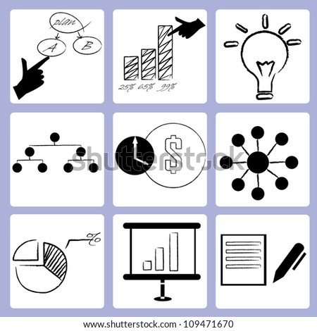 organization management, business management, drawing styles