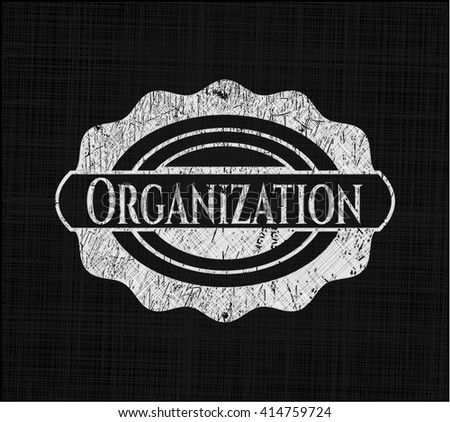 Organization on blackboard