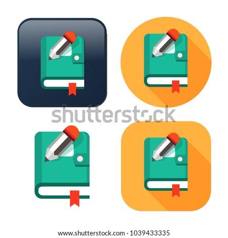 organizer planner book icon  ...