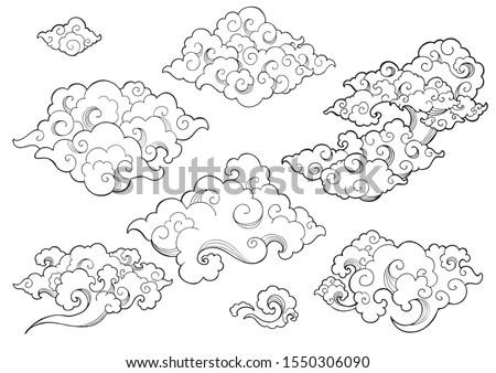 oriental cloud or japanese
