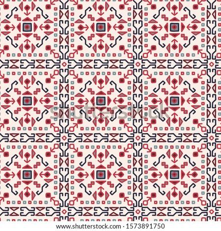 oriental mosaic square rug
