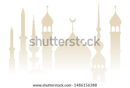 oriental mosque tower