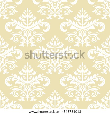 oriental vector classic golden