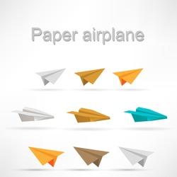 origami airplane set.