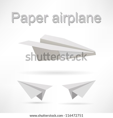 origami airplane set.