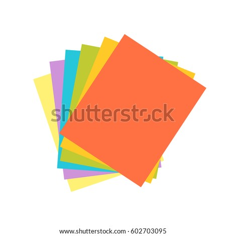 origami colored paper abstract