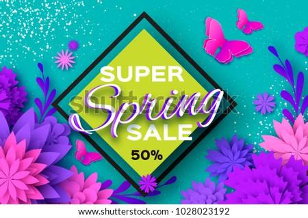 origami violet super spring
