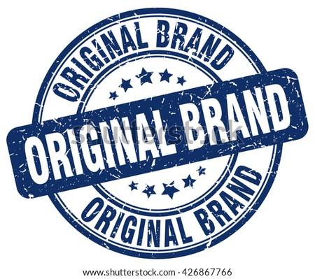 original brand blue grunge