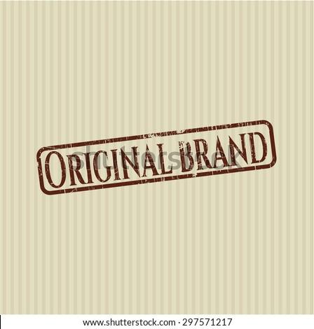 Original Brand rubber stamp