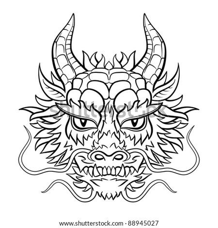 original dragon head black and