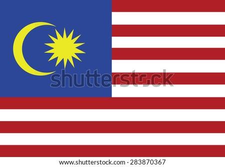 original flag of  malaysia
