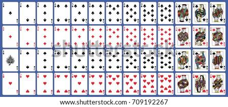 original full deck of playing