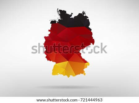 Free Vector Map Of Germany Free Vector Art At Vecteezy - Germany map vector