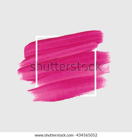 Original grunge abstract background brush paint texture design acrylic stroke poster illustration vector. Original rough paper hand painted vector. Perfect design for headline, logo and sale banner.