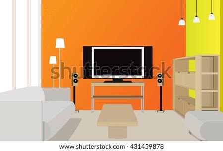 original interior design of