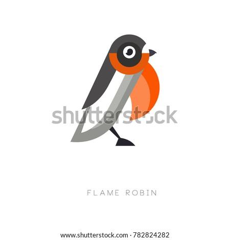 original logo design of flame