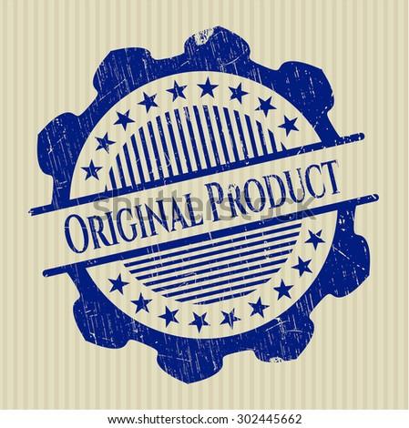 Original Product grunge seal