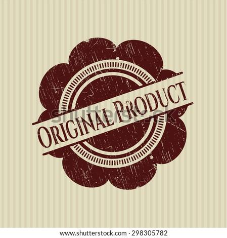 Original Product rubber grunge stamp