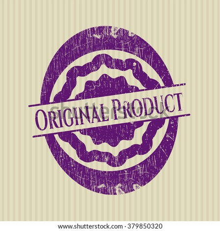 Original Product rubber grunge texture seal