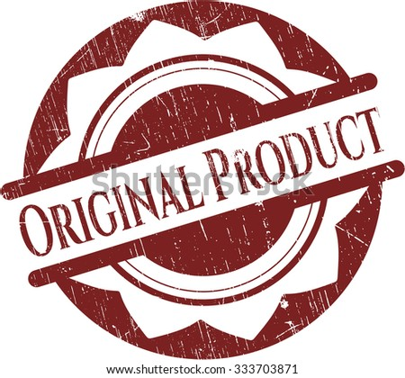 Original Product rubber grunge texture stamp