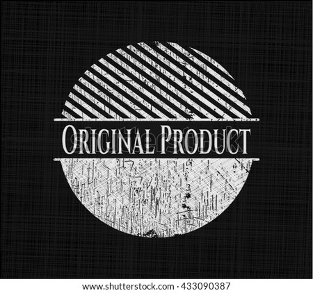 Original Product with chalkboard texture