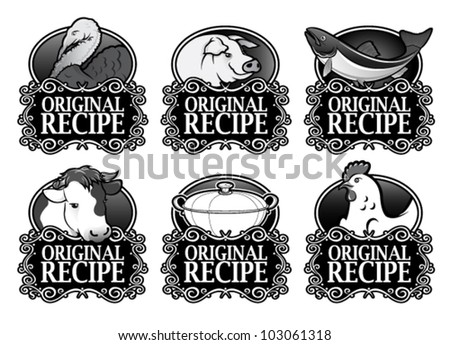 Original Recipe Royal Collection in Black & White